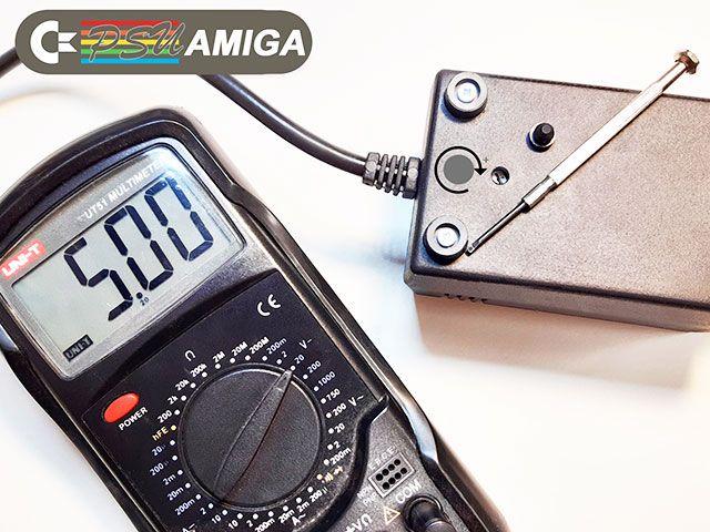LED protection module add-on board for Amiga 500 PSU