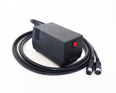 "New C64 PSU ""2 in 1"" for C64, C64C VIC-20 and 1541-II"